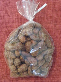roasted cinnamon almonds