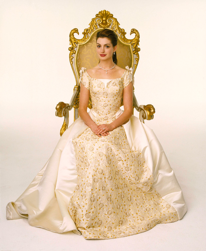 anne hathaway in princess diary