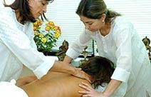 Massagem a 4 (quatro) mãos