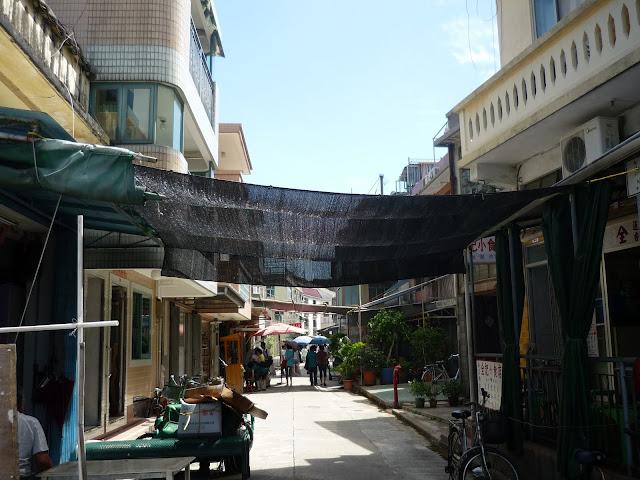 Tai O Village, Lantau Island, Street