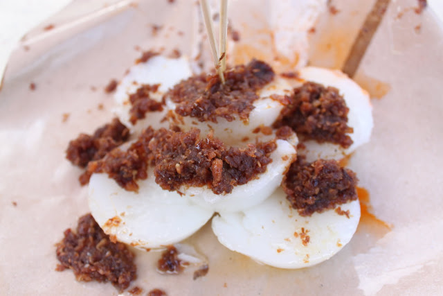 Singapore Hawker Breakfast, Chwee Kueh