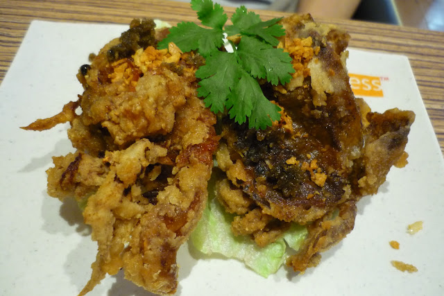Thai Express, Deep Fried Soft Shell Crab