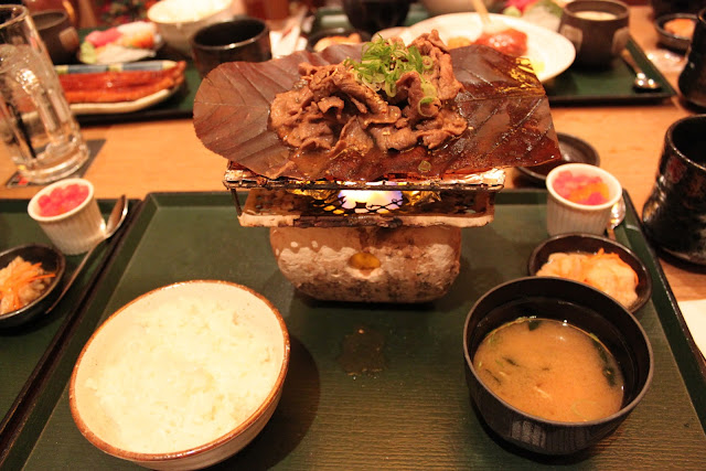 Japanese Grilled Beef