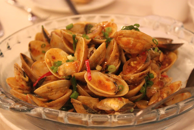 Flower Clams in Spicy Sauce