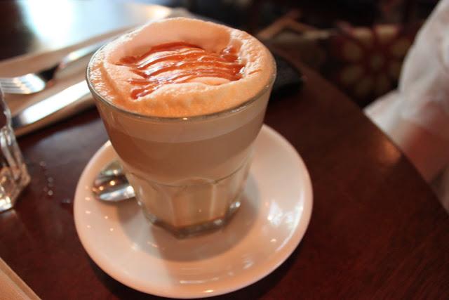 Caramel Latte, Coffee