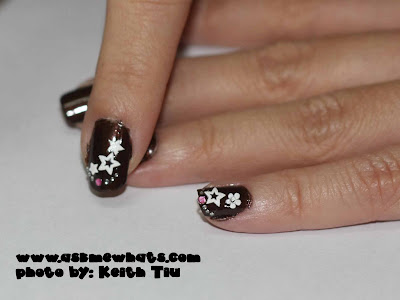 black and white nail art designs. You can top the nail art