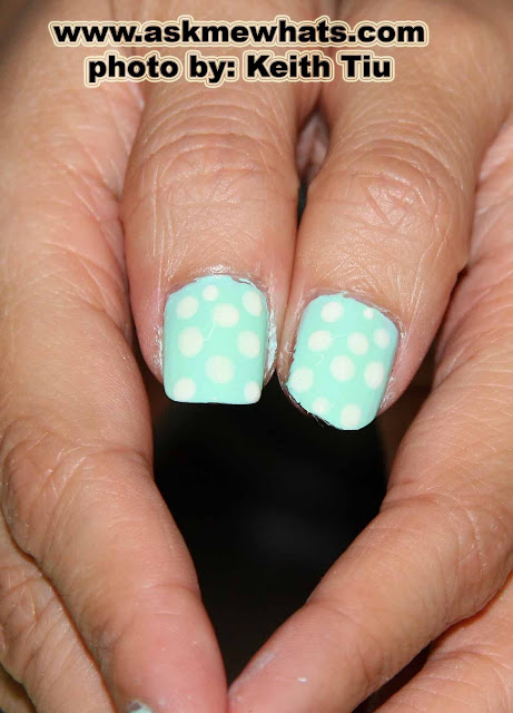 Nail Art Tutorial: Easiest Polka Dotted Nails!