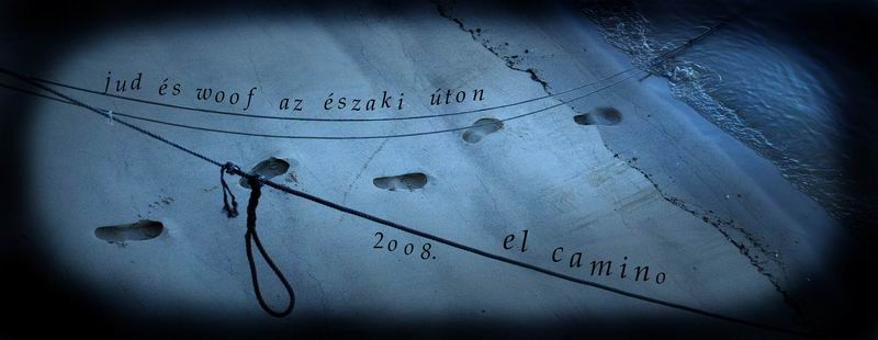 Jud fényképes Camino naplószerűsége