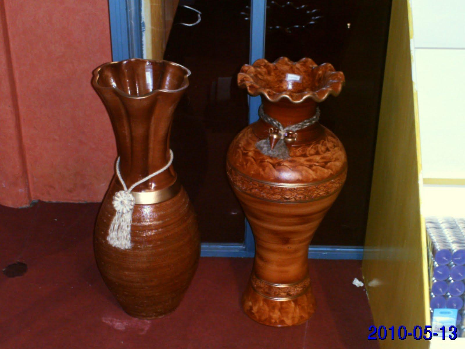 La almoneda jarrones grandes estilo vasija 30 for Jarrones de suelo modernos