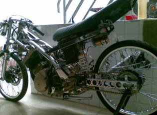 Suzuki Satria FU 150 Full Drag Extreme Modified