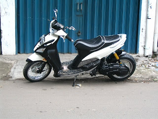 Yamaha Mio simple low Rider Modified