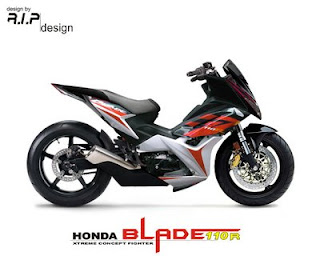 Honda Blade Fighter Modification