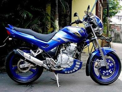 scorpio racing modification Modifikasi Motor Yamaha Scorpio 225 Touring Streetfighter