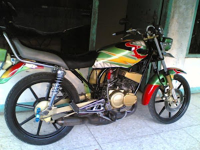 Modifikasi Motor Rx King