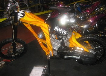Top Adventure Style Honda Nouvo Customized