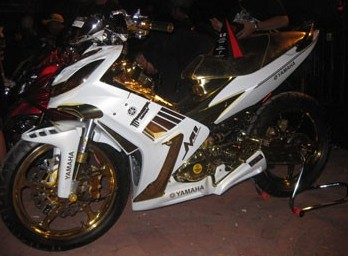 LUXURY YAMAHA JUPITER MX BODY CUSTOMIZED
