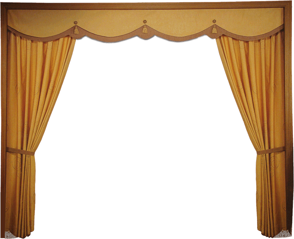 gold curtains png With gold curtains png