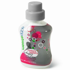 SodaStream Sugar Free Cranberry-Raspberry Mixer