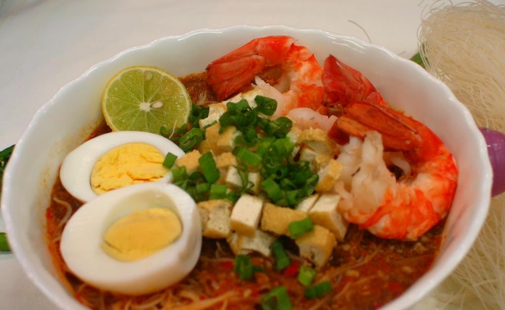 My Not-So-Secret Food Affair: Mee Siam (Spicy Rice Vermicelli)