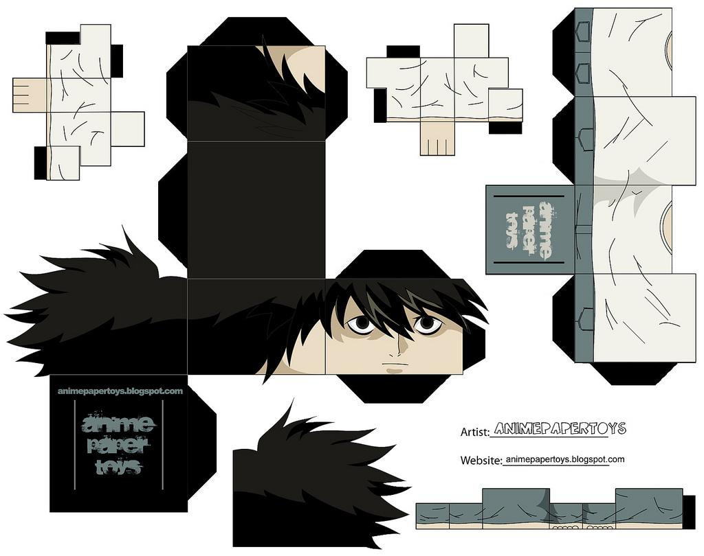 Fabuloso Death Note: Bonequinhos 3D IT62