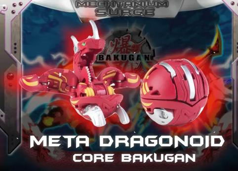 An evolution of the Dragonoid line  Meta Dragonoid uses his strong    Meta Dragonoid