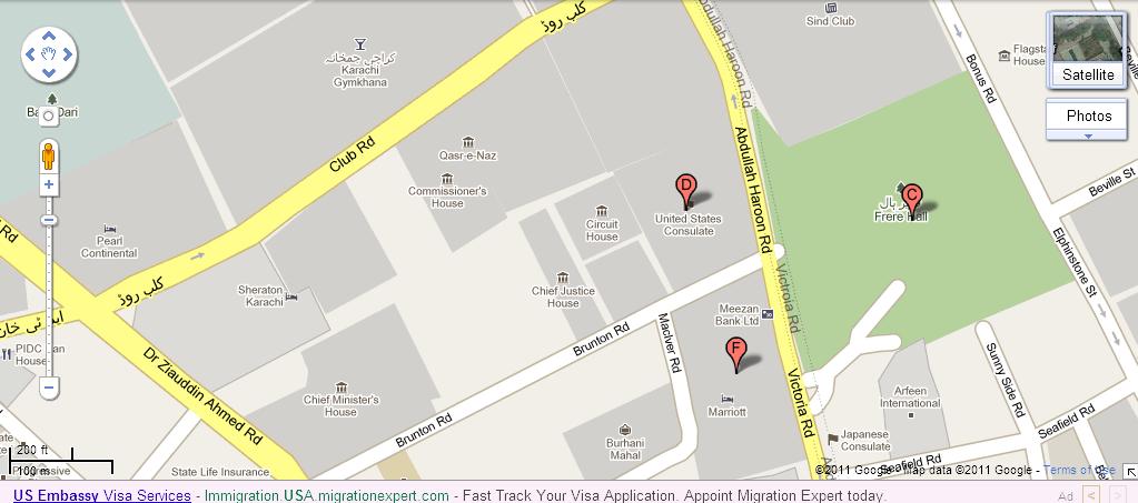 Map Us Embassy Bangkok - Map of us embassies in mexico