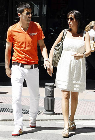 David Villa on David Villa Wife Jpg