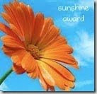 This is My Sunshine Blogger Award!