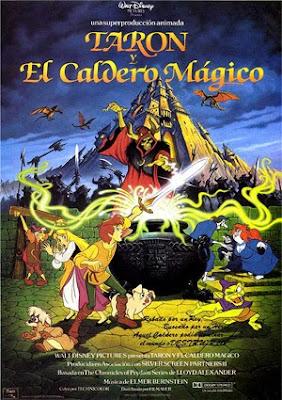 Taron y el caldero mágico, Disney