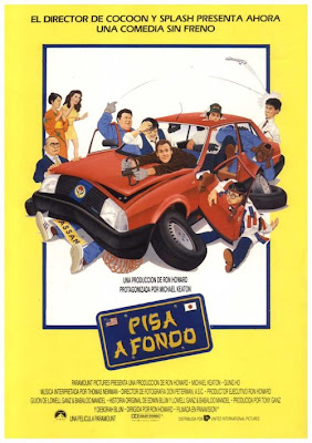 Pisa a fondo, Michael Keaton, Ron Howard