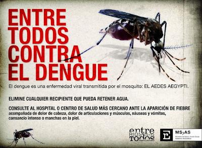 anuncio contra el dengue