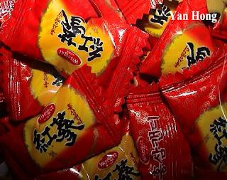 南韩人参糖果
