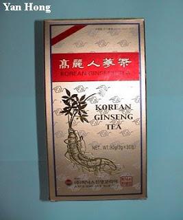 Teh Ginseng Korea Selatan