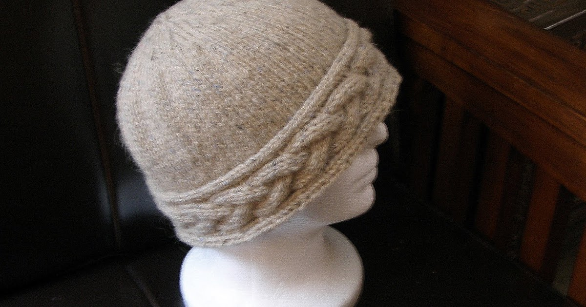 Loose Ends: Knitted Ancestors: Cabled Oatmeal Hat