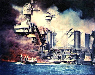 Japanese air raid on Pearl Harbor
