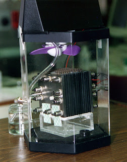 Methanol fuel cell Photo: NASA