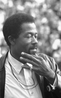 Eldridge Cleaver, Minister of Information for the Black Panther Party