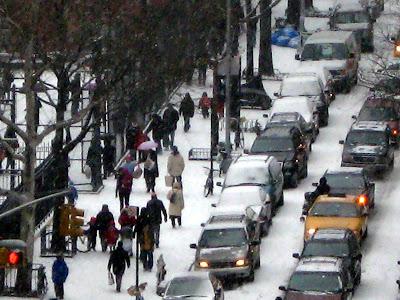 New York City Winter Scene