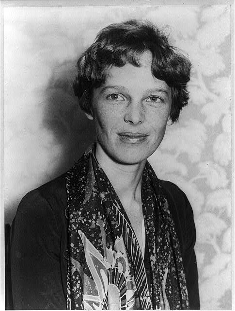 Amelia Earhart c;ip art