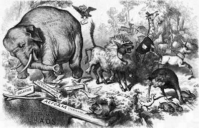 Republican Elephant by Thomas Nast