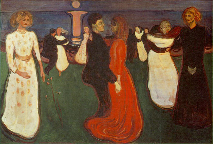 The Dance of Life. 1899 – 1900. Edvard Munch. Oil on canvas