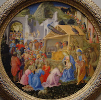 Adoration of the Magi.