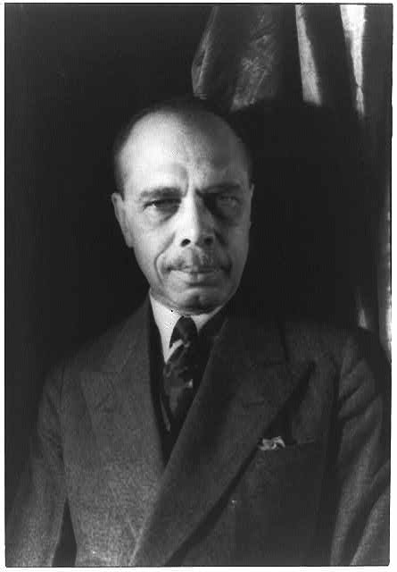 Portrait of James Weldon Johnson, Credit Line: Library of Congress, Prints & Photographs Division, [reproduction number, LC-USZ62-42498]