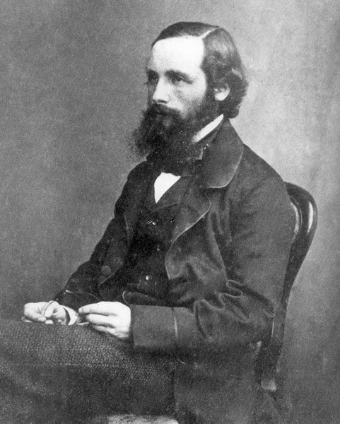 James Clerk Maxwell - aged about 30, Courtesy of the Master and Fellows of Trinity College, University of Cambridge