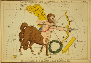 Astrological Signs Sagittarius, Credit Line: Library of Congress, Prints & Photographs Division, [reproduction number, LC-USZC4-10070]