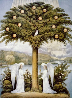 Currier and Ives Tree of life