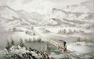 Currier & Ives the Great West, Credit Line: Library of Congress, Prints & Photographs Division, [reproduction number, LC-USZC2-2538]