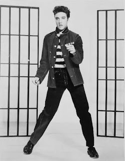 Famous People Elvis Presley, Library of Congress Reproduction Number: LC-USZ6-2067
