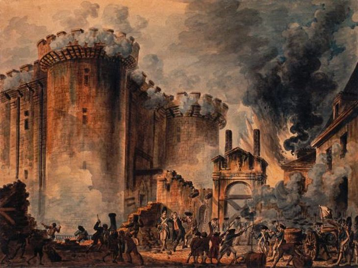 Bastille Day by Jean Pierre Louis Laurent Houel