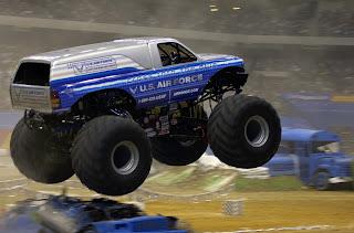 Monster Truck Afterburner (U.S. Air Force photo by Senior Airman Brian Ferguson)